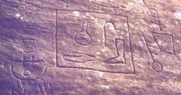 Hieroglife în Australia