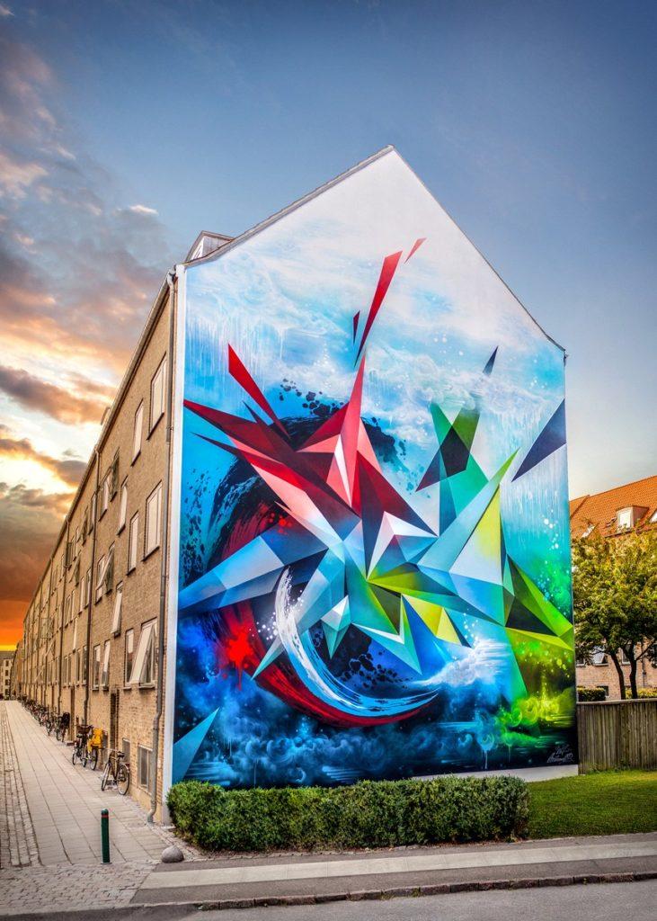 Kets - Mural Copenhaga 2017