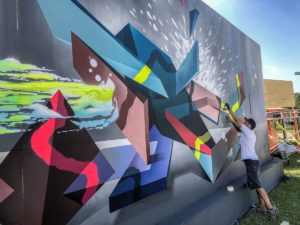 Kets - mural cu molotow