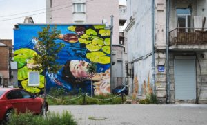 Lake Mural by Anastasia Belous in Kiev