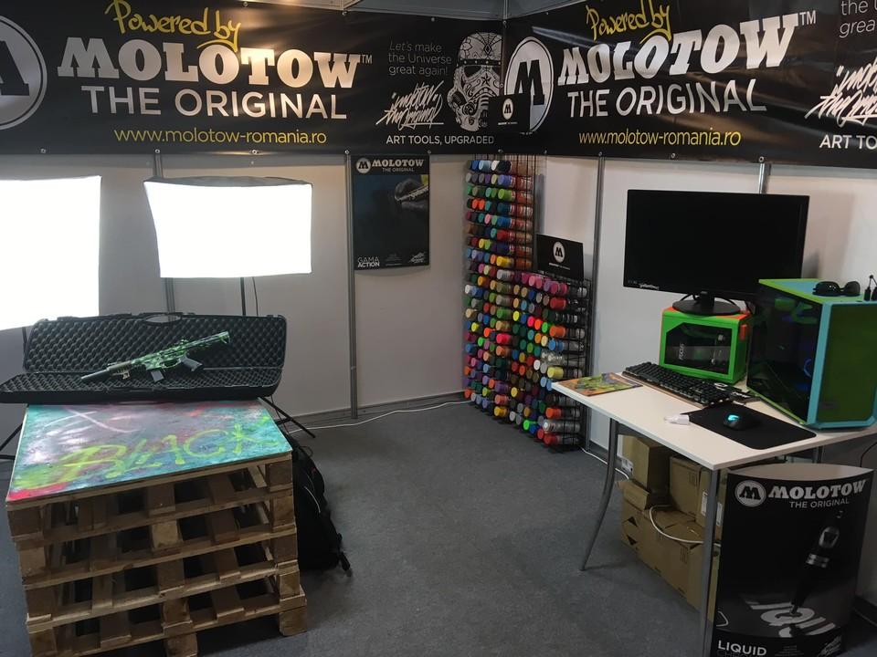 Molotow-stand-comic-con