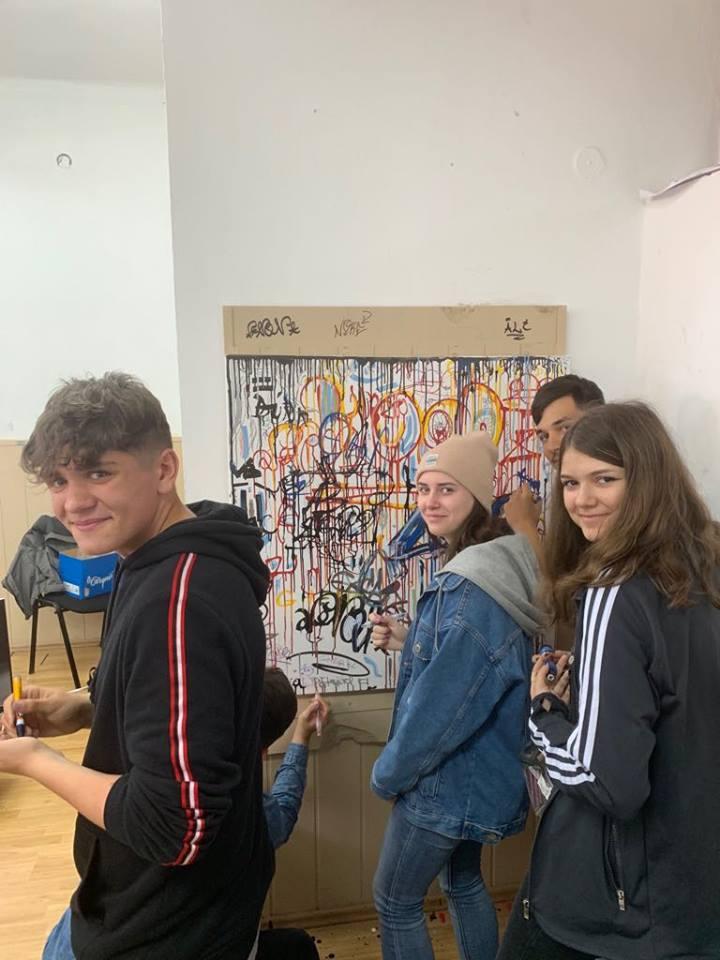 """Molotow România X Liceul de Artă """"Sabin Drăgoi"""", Arad 8"""
