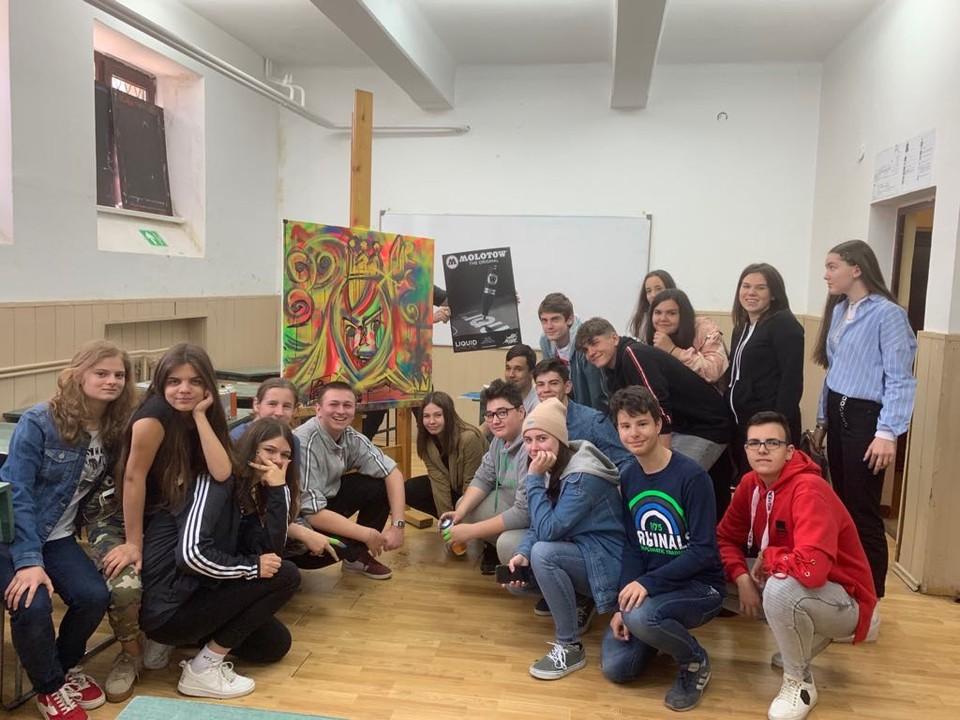 """Molotow România X Liceul de Artă """"Sabin Drăgoi"""", Arad 9"""