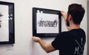 Mr. Christa, expoziţie de grafică, la Londra