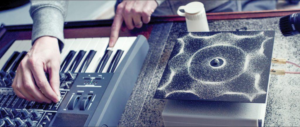 Muzica crează forme fizice