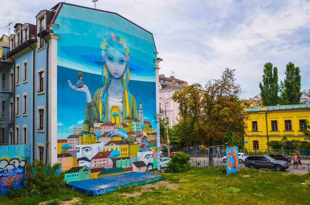 Renaissance by Seth and Kislow in Kiev
