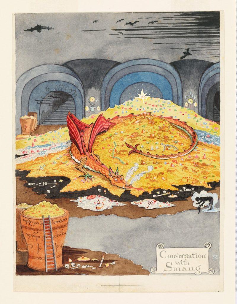 Tolkien în acuarelă