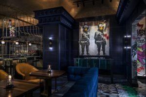 What happens in Vegas? Greene St Kitchen, Banksy